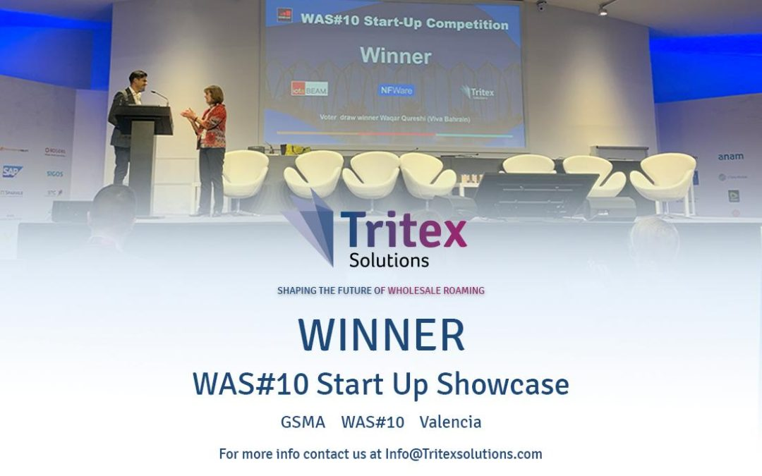 Tritex announced as Winners of the GSMA Start-up Showcase